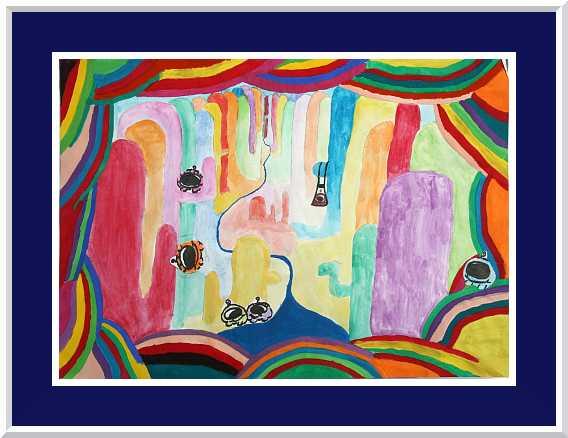... Tiefenwirkung Durch Farben Tiefenwirkung Im Raum Durch Farben  Wandgestaltung ...